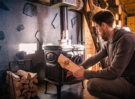 poêle à bois lesage energies